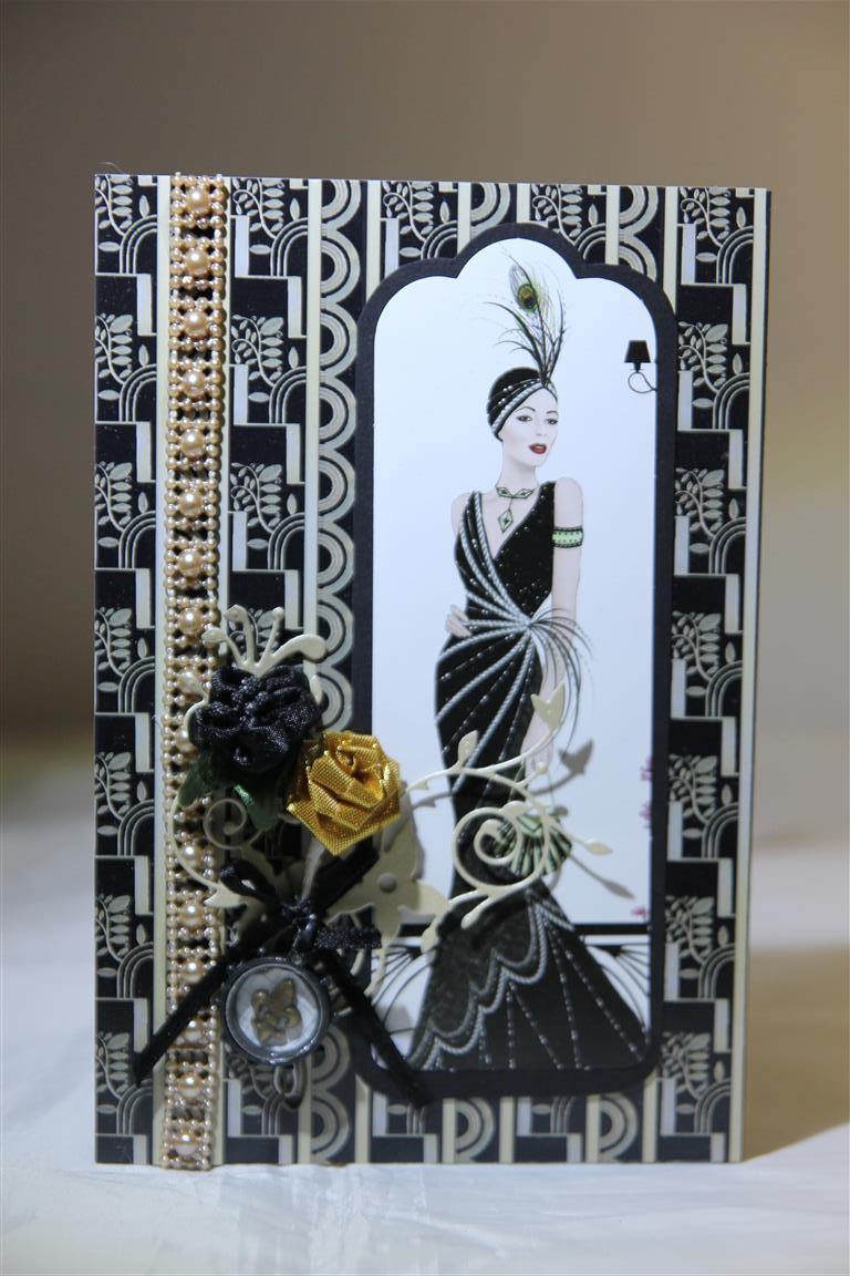 Art deco style helens card designs for Art deco ideas