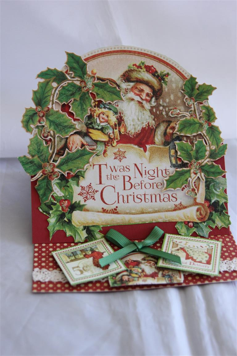 graphic 45 twas the night before Christmas | Helens Card Designs
